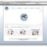 Il sito di A.C. Studio da Hdemo web design