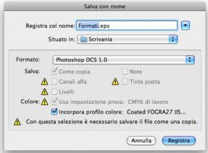 Formato DCS 1.0 in Photoshop