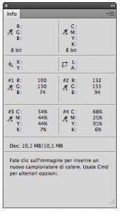 Palette info