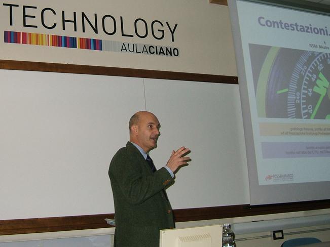 Andrea Roversi CTU del tribunale di Venezia esperto nel settore grafico.