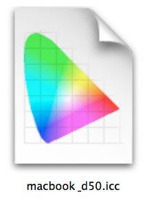 profilo colorsync nel sistema operativo, detto anche ICC o ICM