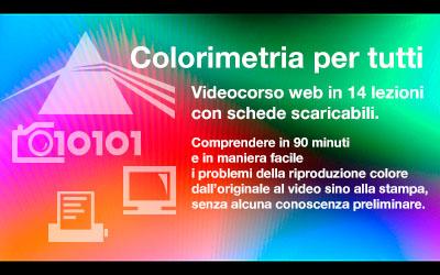 videocorso colorimetria