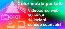 Nuovo corso online: Colorimetria per tutti